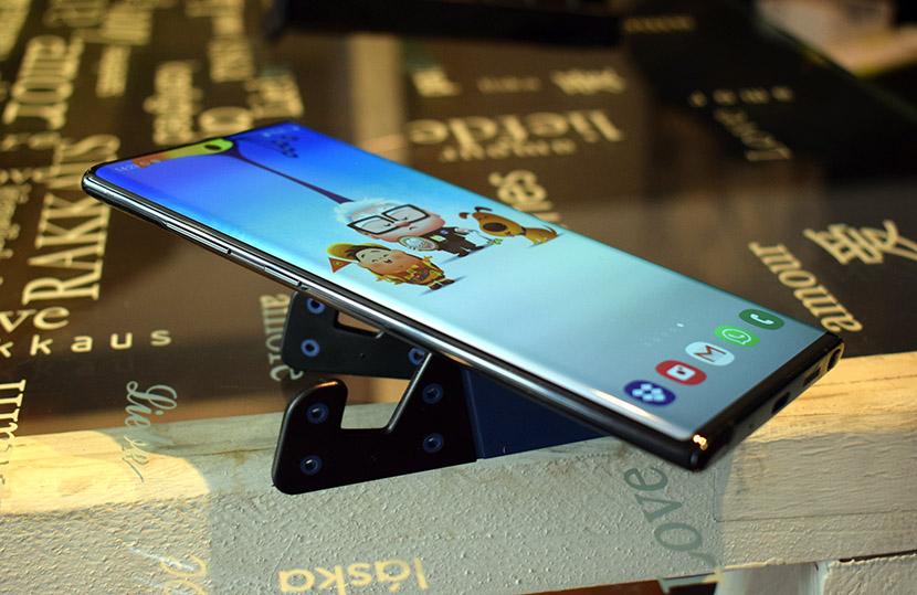 Diseño del Note 10 Plus
