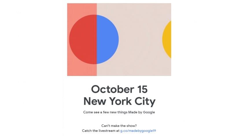 Presentación Google Pixel 4