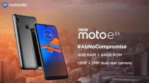Moto E6s anunciado