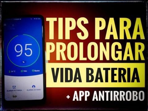 Consejos cuidar batería Android