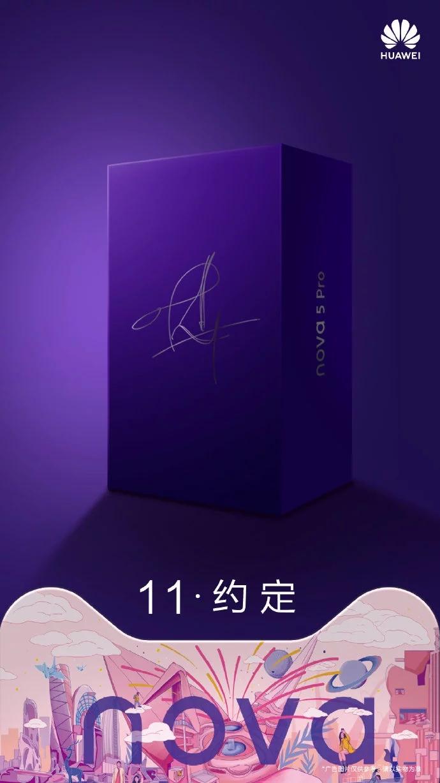 Huawei Nova 5(cinco) Pro Jackson Yee Edition
