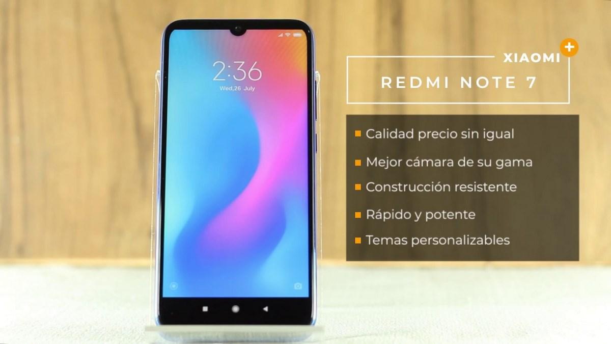 Características del Redmi™ Note 7