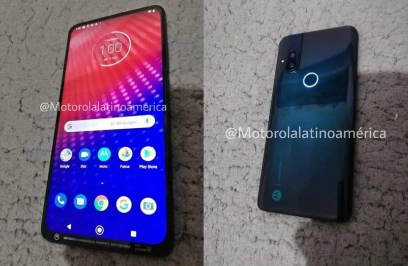 Motorola camara deslizable