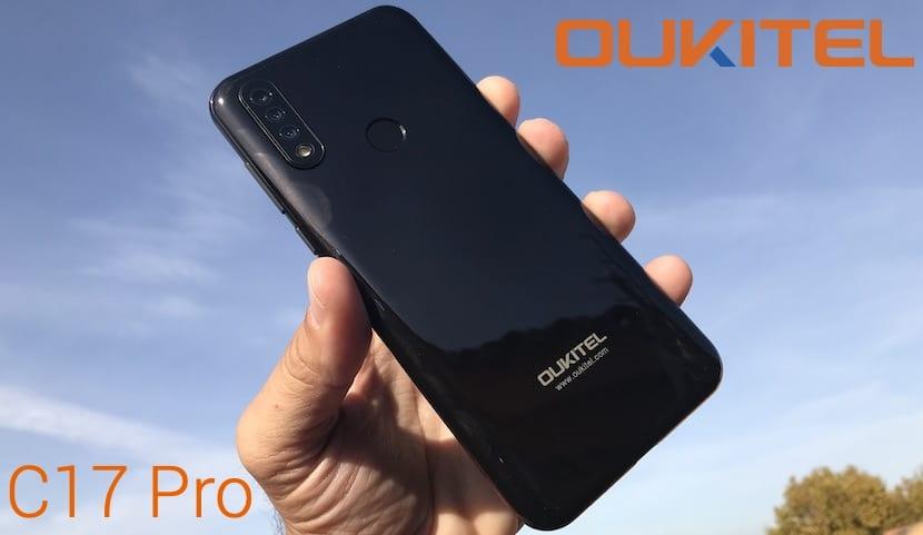 OUKITEL C17 Pro portada