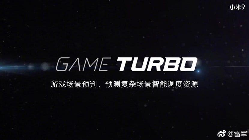 Game Turbo de Xiaomi