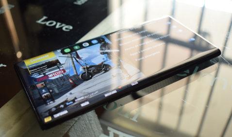 Galaxy Note 10 sensor