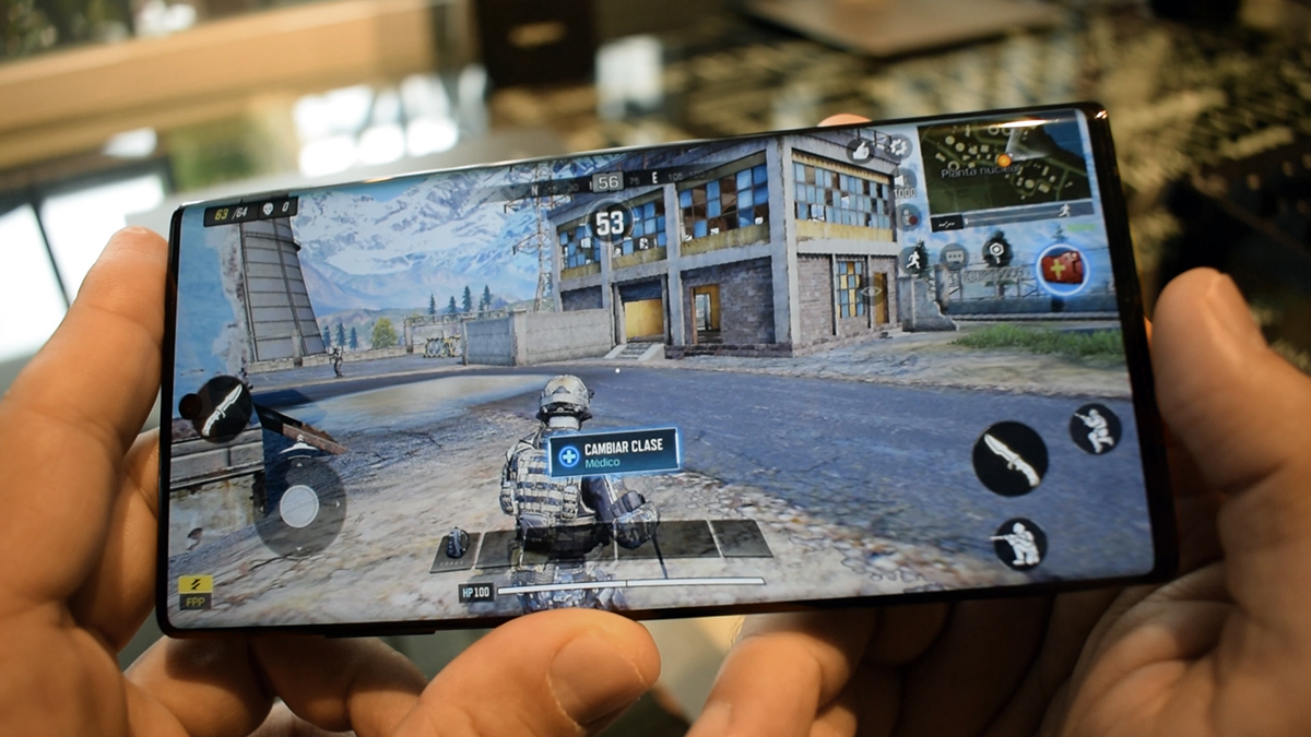 Gaming en el Note 10 Plus