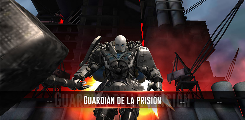 Jefe final en Breakout: Dark Prison