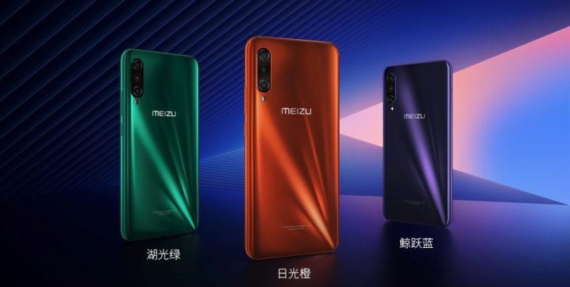 Colores del Meizu 16T