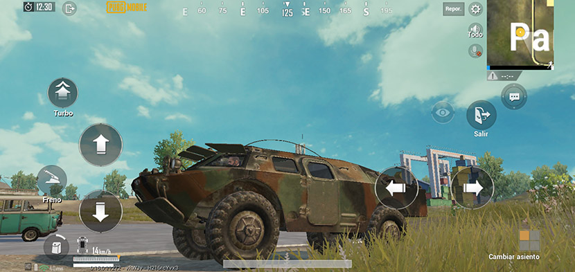 Tanque anfibio en PUBG Mobile