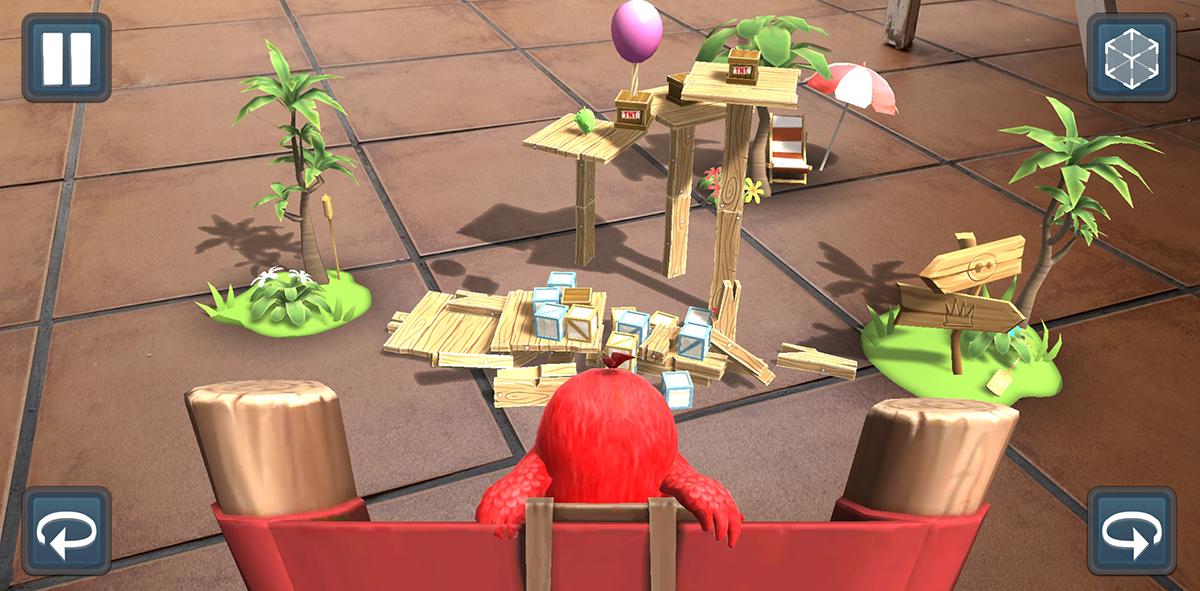 Rovio impresiona con la realidad aumentada del gran e innovador Angry Birds AR: Isle of Pigs