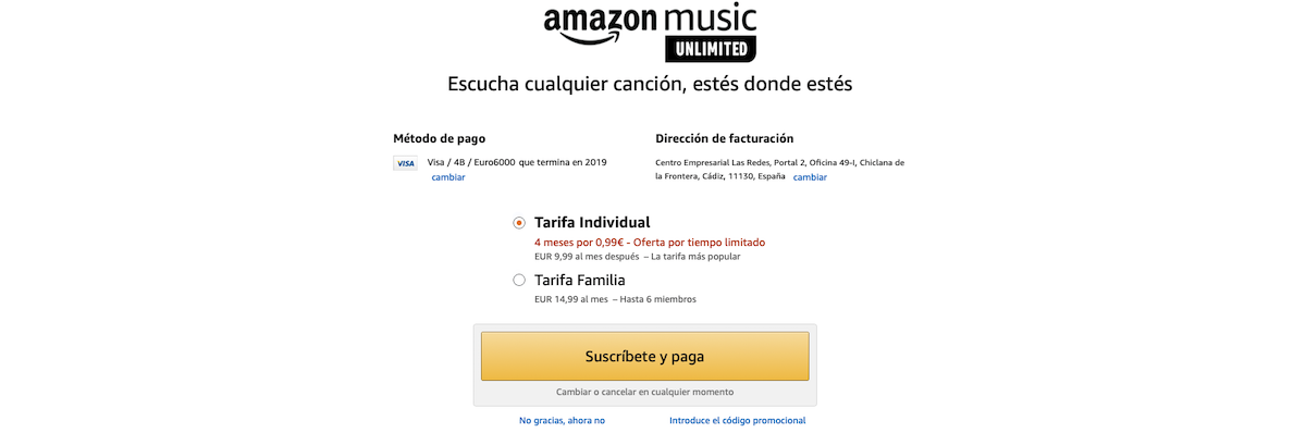 Oferta <stro />Amazon</strong>® Music» width=»1200″ height=»409″ srcset=»https://www.androidsis.com/wp-content/uploads/2019/11/Amazon-Music-Unlimited.png 1200w, <a target=