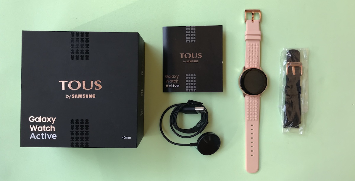 Galaxy Watch TOUS caja