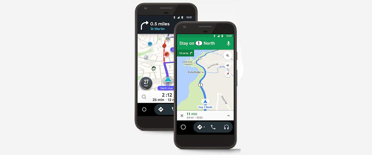 Android Auto para pantallas de teléfonos