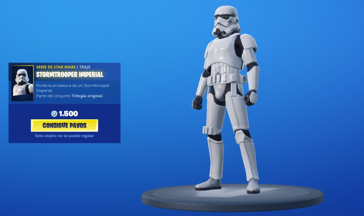 Stormtrooper . Fortnite