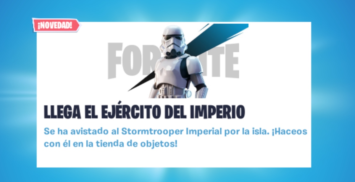 Los Stormtroopers de Star Wars llegan a Fortnite