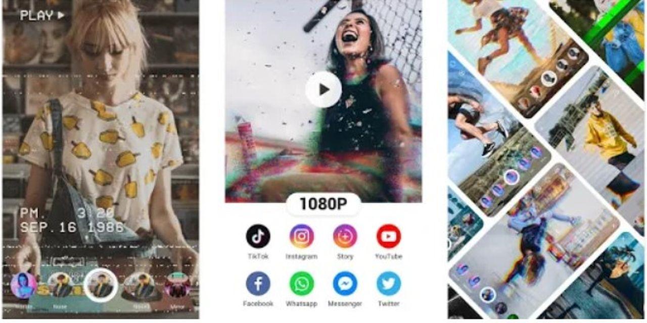Glitch Cam o cómo darle un toque de diversión a tus historias de Instagram, Facebook, WhatsApp, etc, etc...