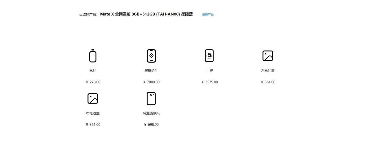 Huawei Mate X reparar