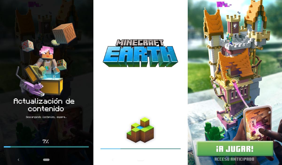 Instalar Minecraft Earth