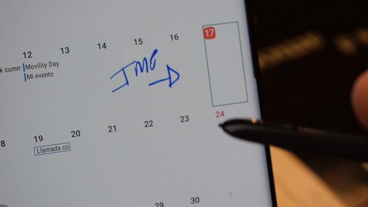 Añade informativos en el calendario