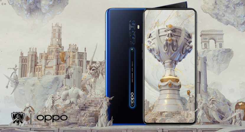 Oppo presentó el Reno2 Zoom en la final del Campeonato Mundial de League of Legends