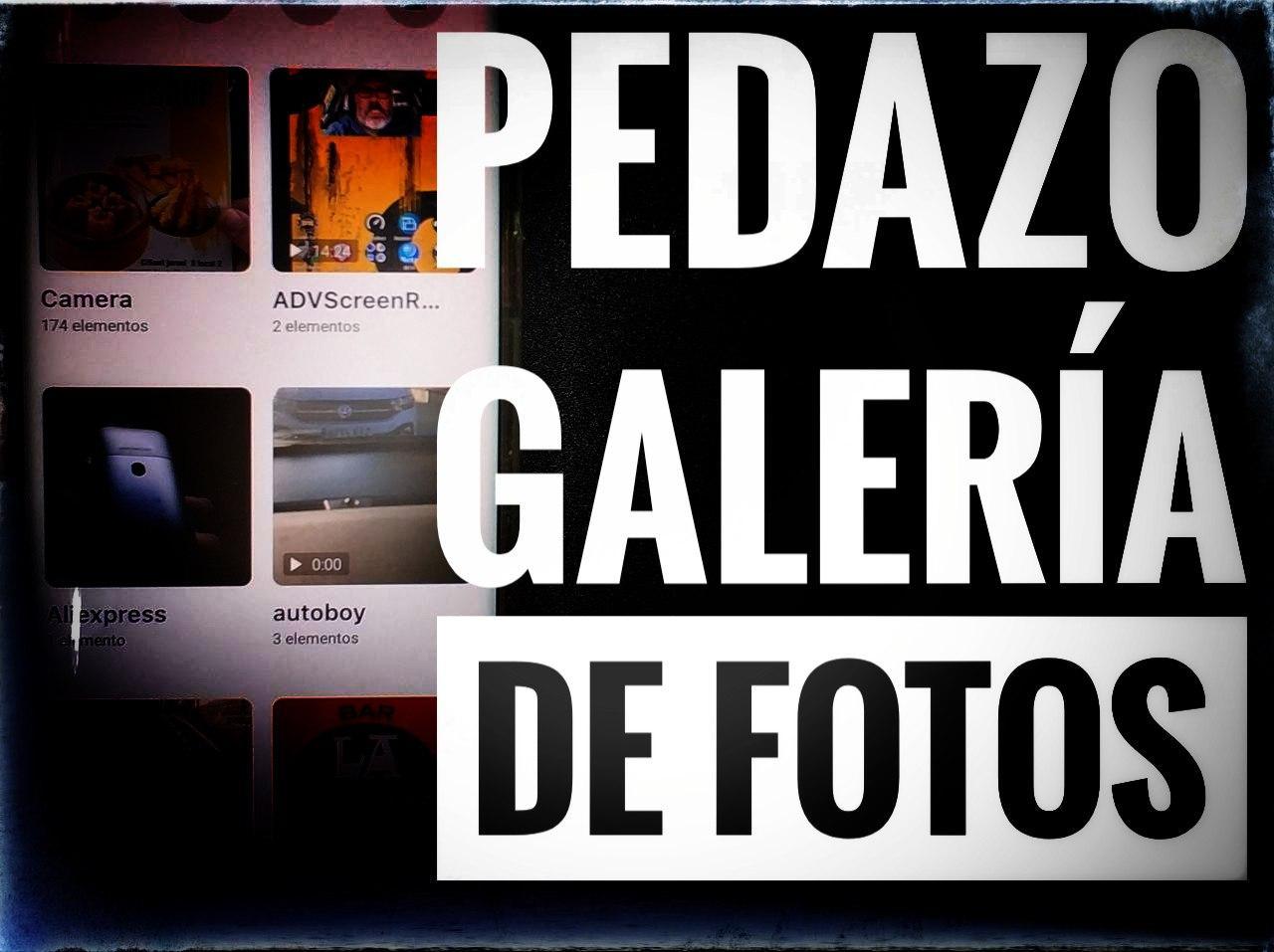 Pedazo Galería de Fotos para Android