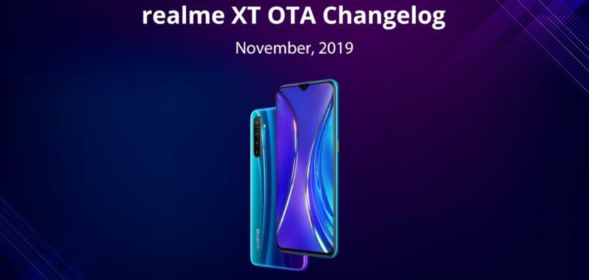 El Realme XT recibe una nueva actualización con el modo Nigthscape para la cámara frontal