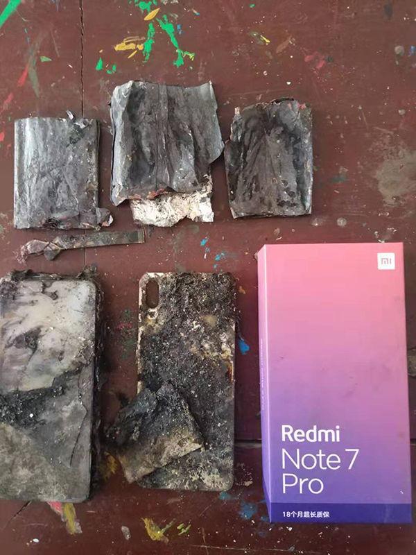 Redmi Note 7(siete) Pro quemado