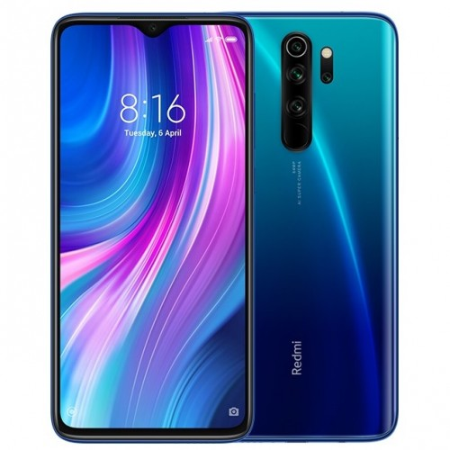 Redmi Note 8(ocho) Pro en su versión de color Electric Blue