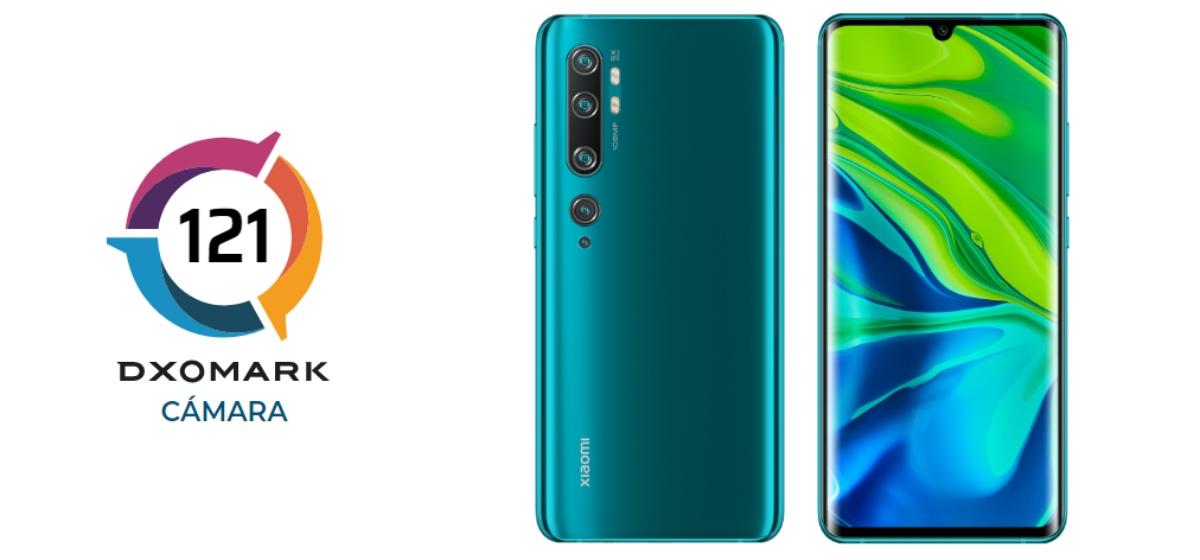 Xiaomi Mi CC9 Pro en DXoMark