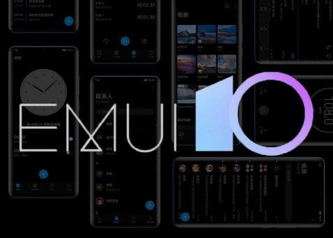móviles Huawei con EMUI 10