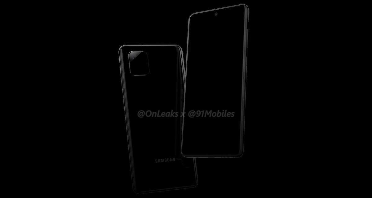 El diseño del Samsung Galaxy Note 10 Lite se filtra, mostrando algunas sorpresas