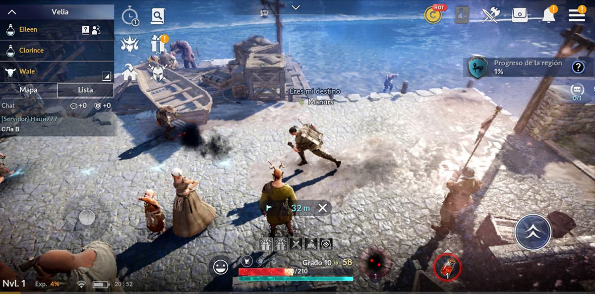 Primeras impresiones de Black Desert Mobile, un MMORPG de altura