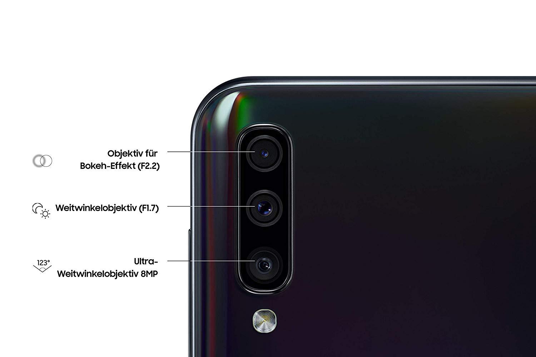 Detalles de la cámara del Galaxy a50