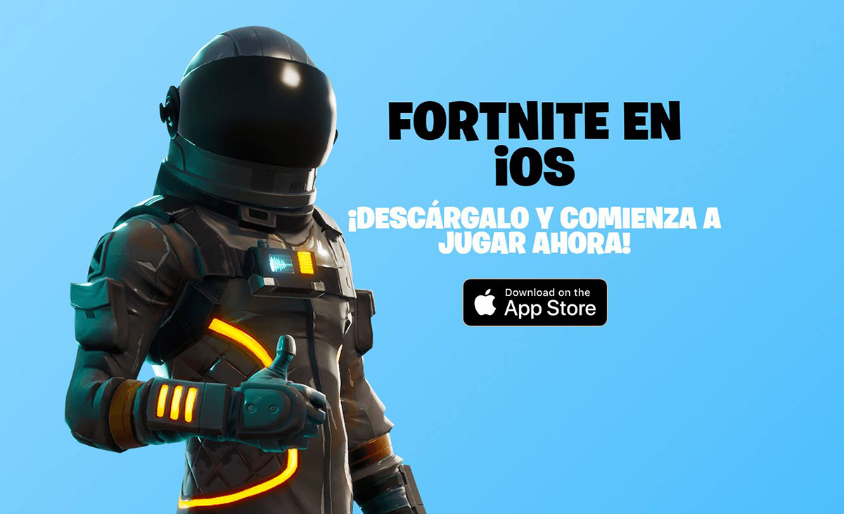 Fortnite en iOS