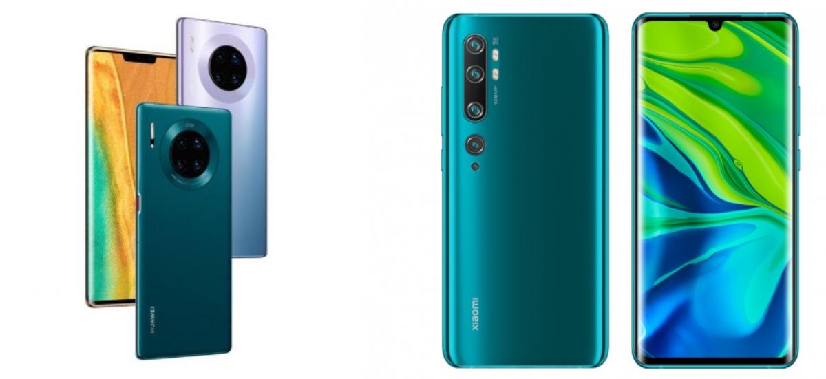 Mate 30 Pro - Xiaomi Mi CC9 Pro