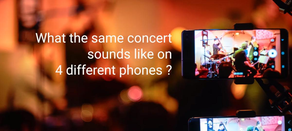 mejor calidad grabación audio smartphone