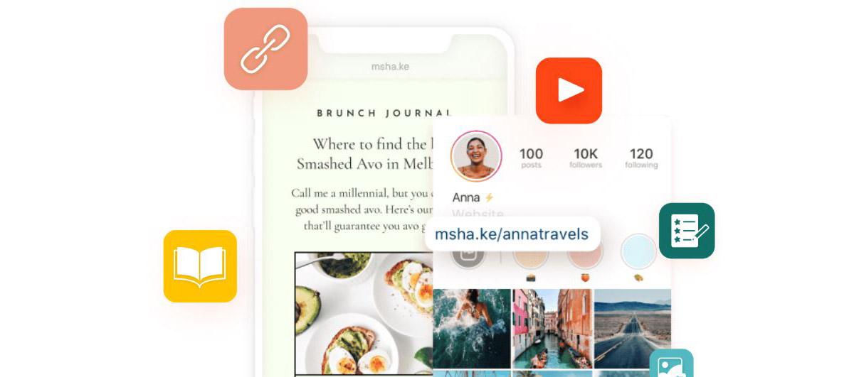 Cómo crear una web en minutos para tu bio en Instagram desde tu móvil