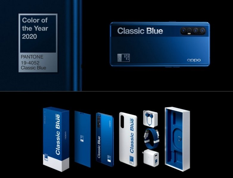 reno 3 pro azul