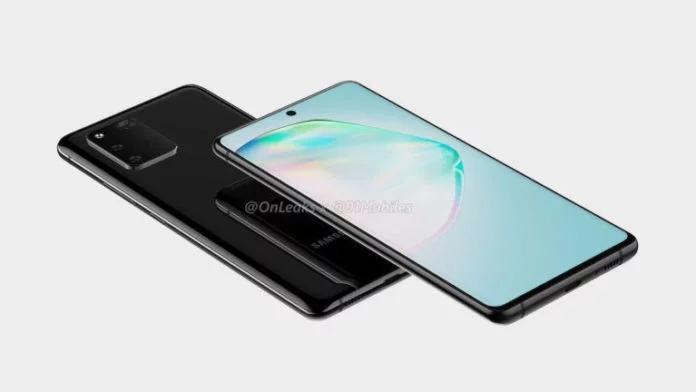 Renders del Samsung Galaxy A91