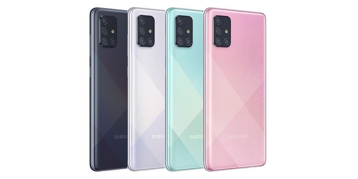 Samsung Galaxy A71 5G llegará también al mercado estadounidense