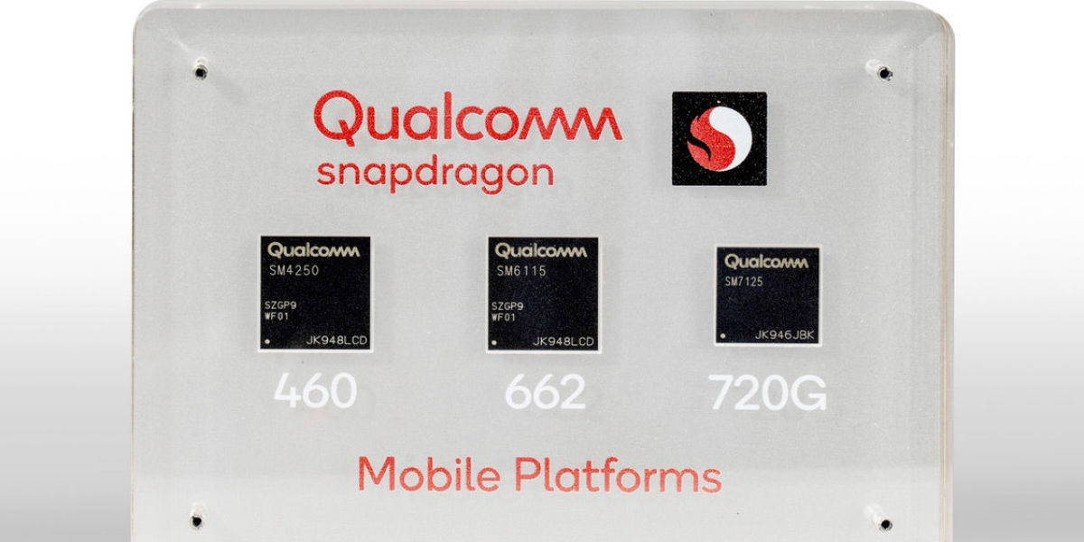 Qualcomm presenta los chips Snapdragon 720G, 662 y 460