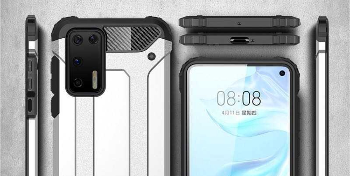Renders de las carcasas del Huawei P40