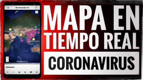 mapa cornavirus