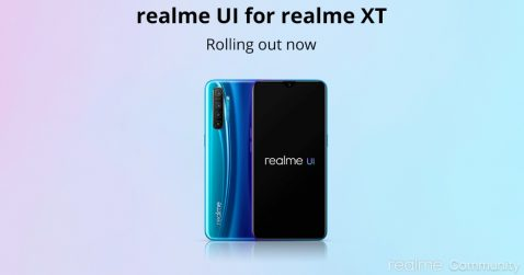 El Realme XT recibe Android 10