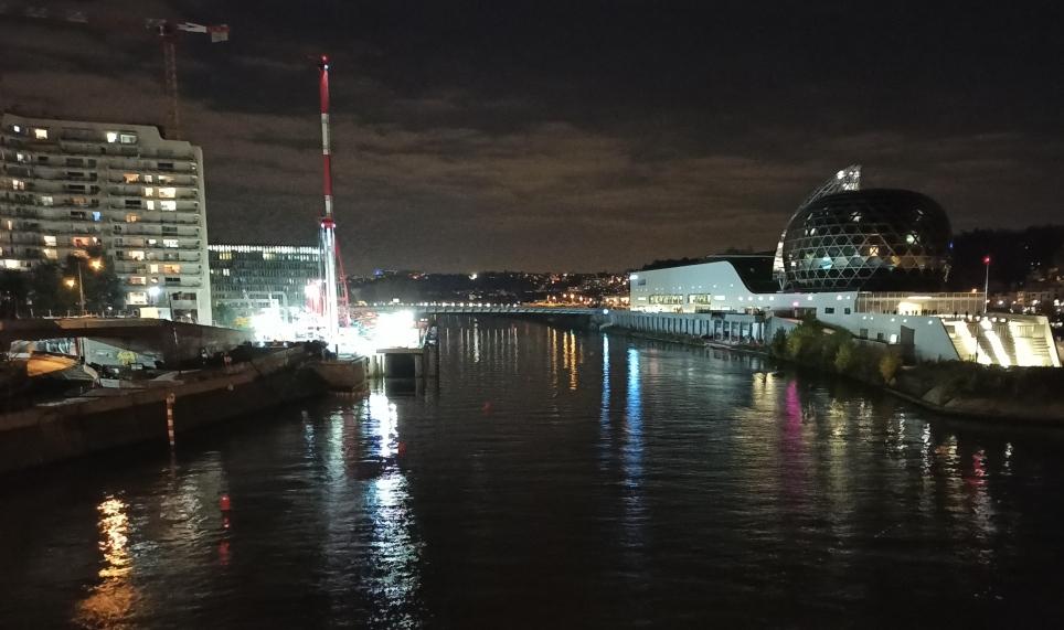 Foto de noche tomada con el Redmi Note 8 Pro