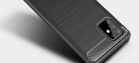 Funda protectora del Samsung Galaxy A81 filtrada