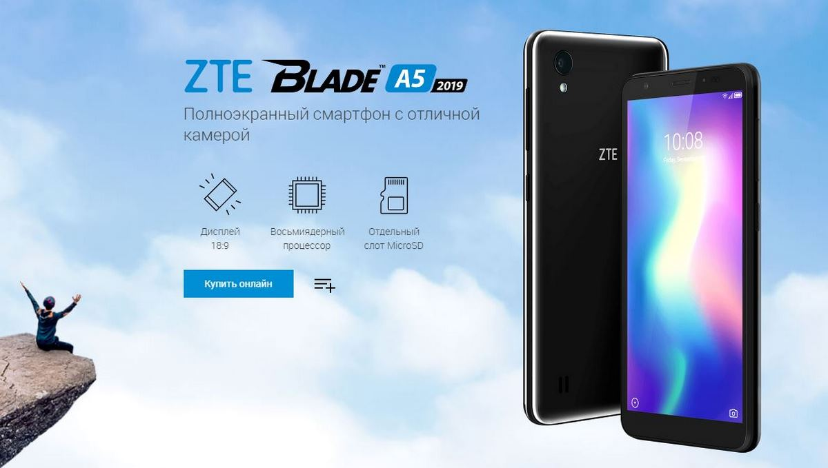 teléfono barato ZTE Blade A5 2019
