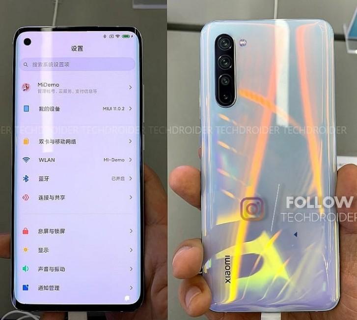 Xiaomi Mi 10 filtrado