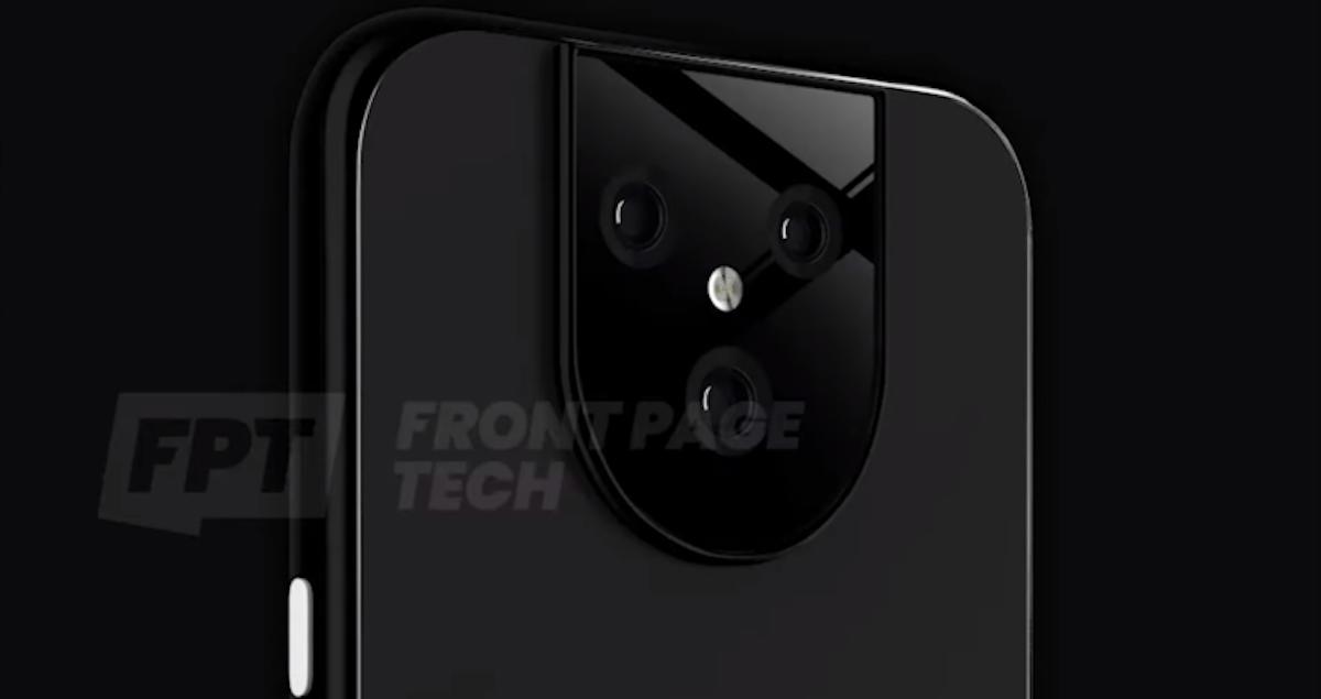 Google Pixel 5(cinco) render